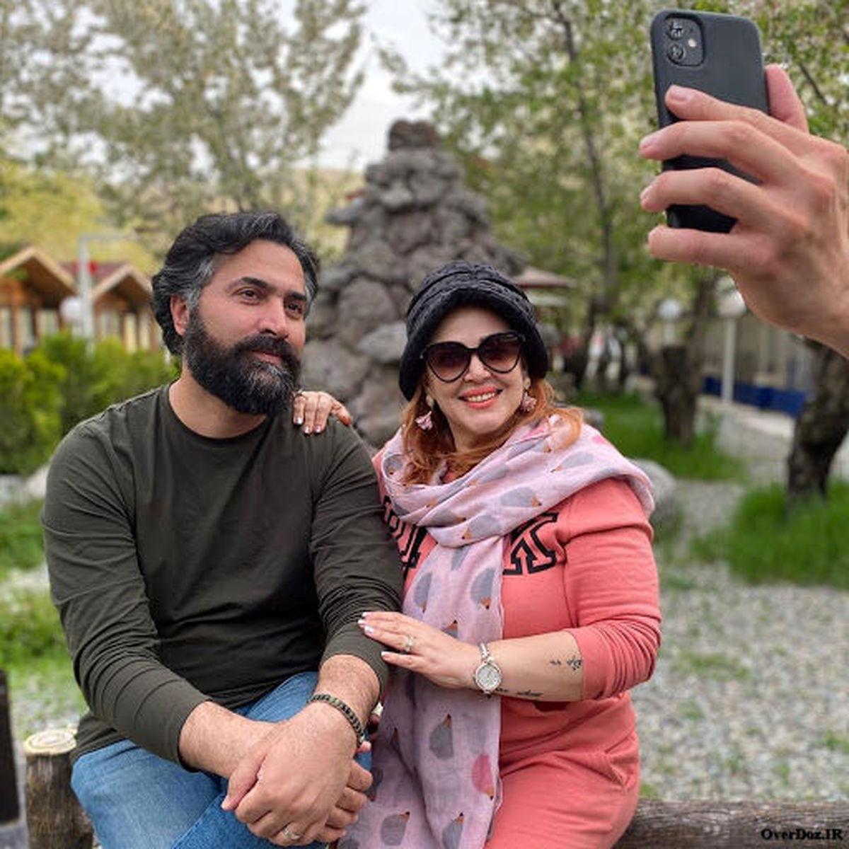 حجاب عجیب بهاره رهنما در ترکیه + عکس