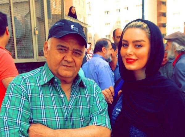 سحر قریشی و اکبر عبدی