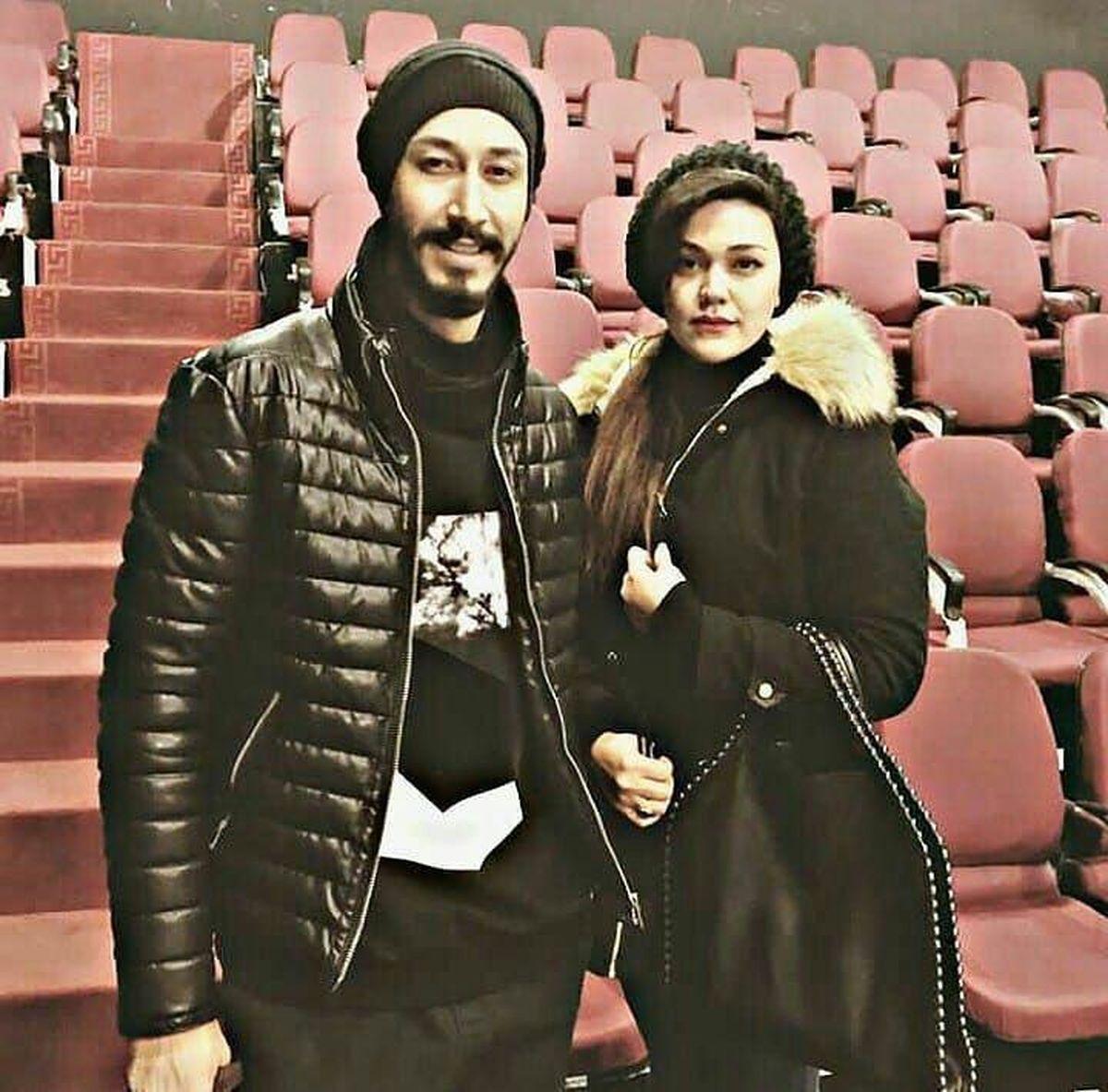 بهرام افشاری با بازیگر معروف ازدواج کرد + عکس دونفره