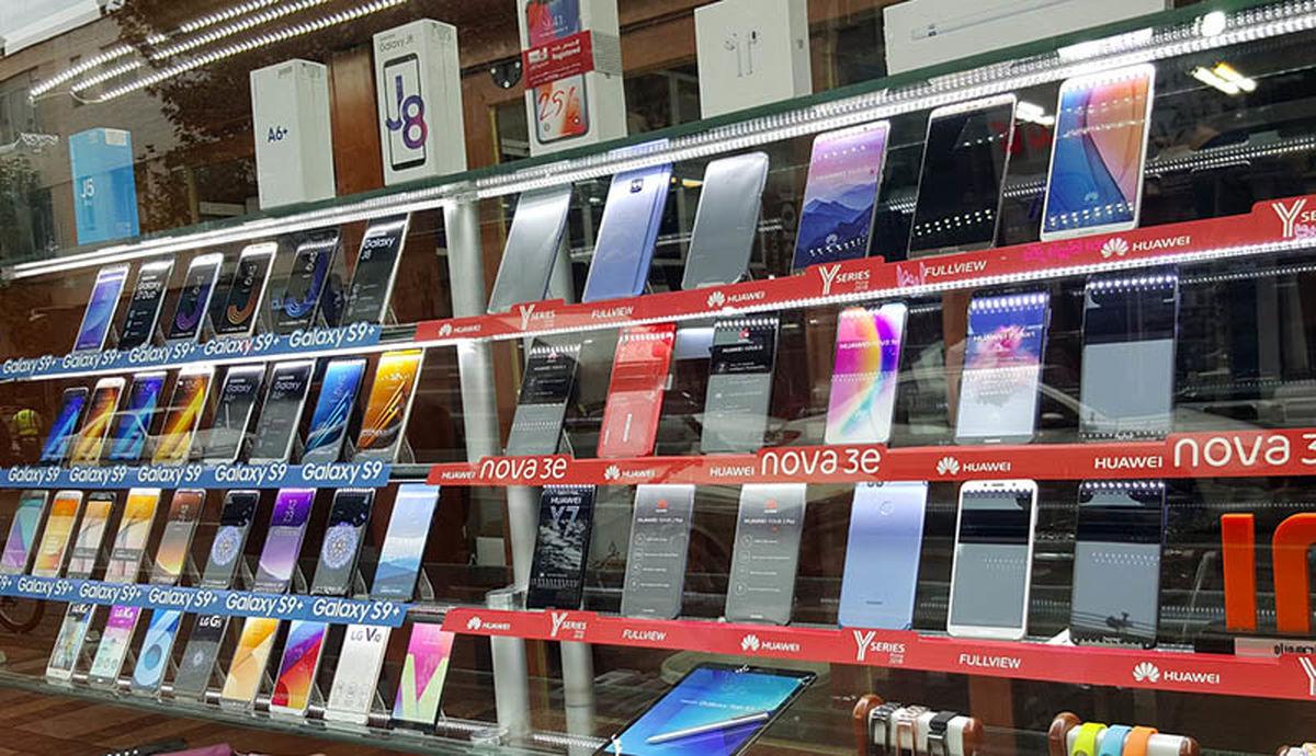 قیمت انواع گوشی امروز 10 دی ماه + جدول