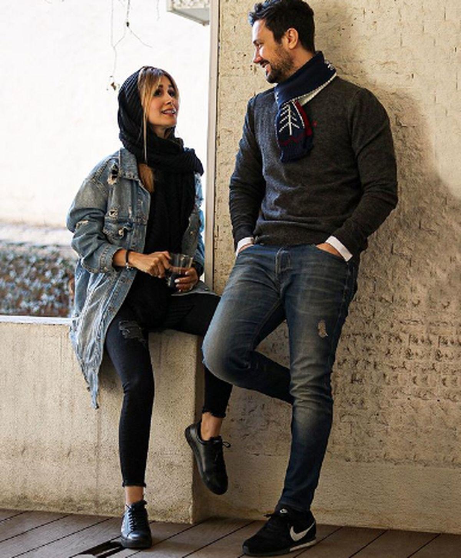 تفریحات لاکچری شاهرخ استخری و همسرش در بلژیک + عکس