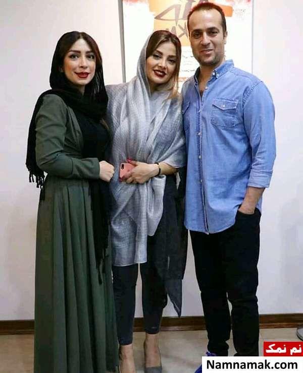 احمد مهرانفر و مونا فائض پور