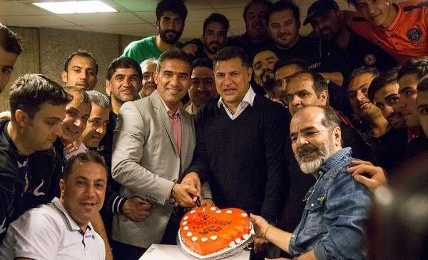 علی دایی در روز تولدش