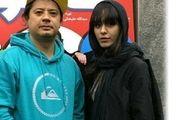مراسم ازدواج علی صادقی و همسرش + عکس لورفته