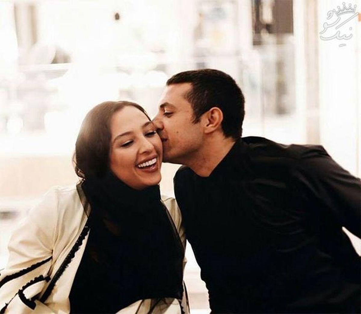 عکس عاشقانه اشکان خطیبی با عروس سابق علی پروین + عکس دونفره