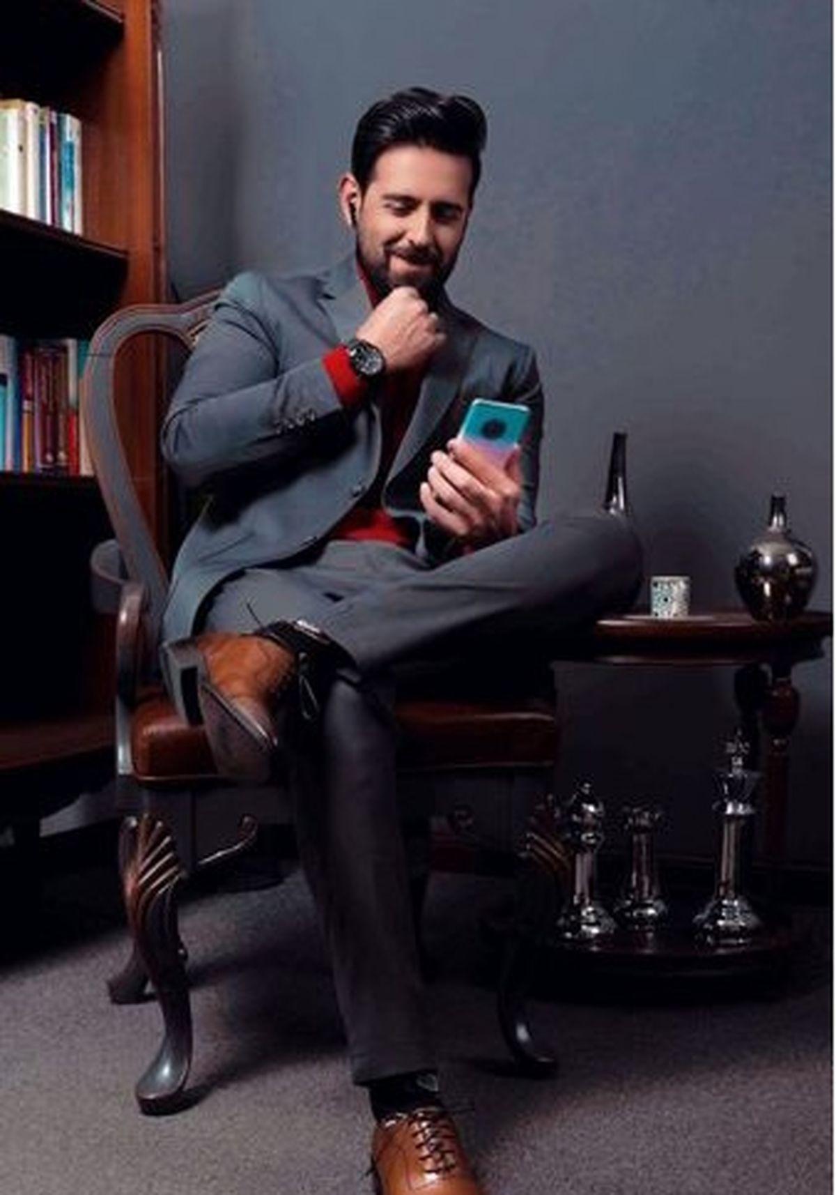 امیرحسین آرمان در رستوران لاکچری + عکس