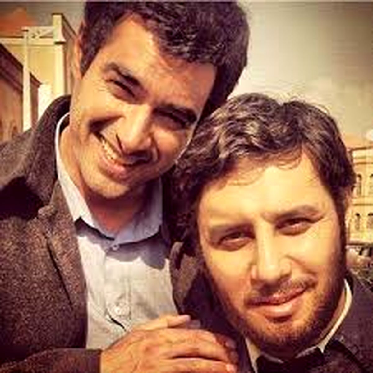 قردادن شهاب حسینی در برنامه زنده + فیلم