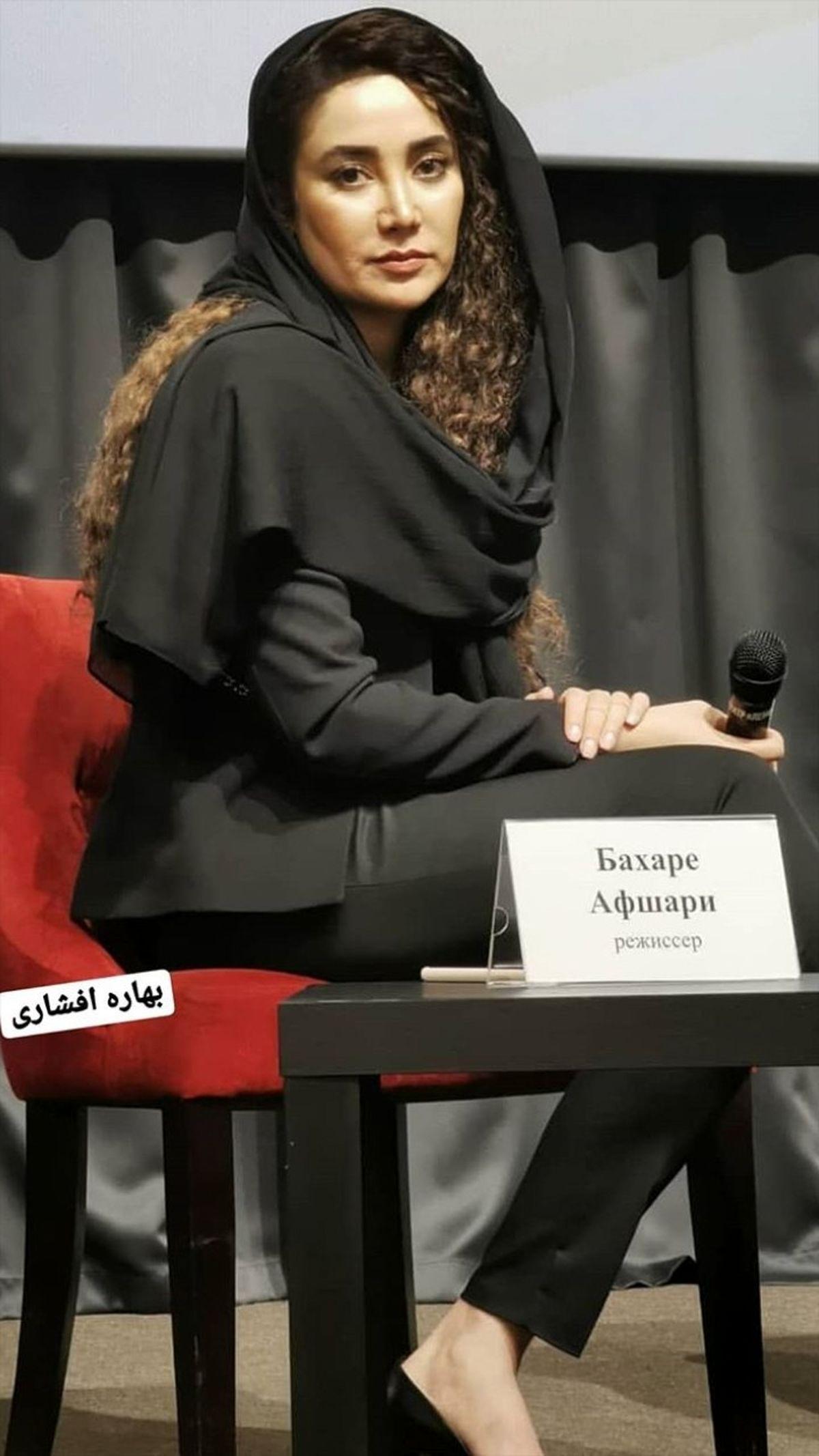 سلفی آسانسوری بهاره افشاری