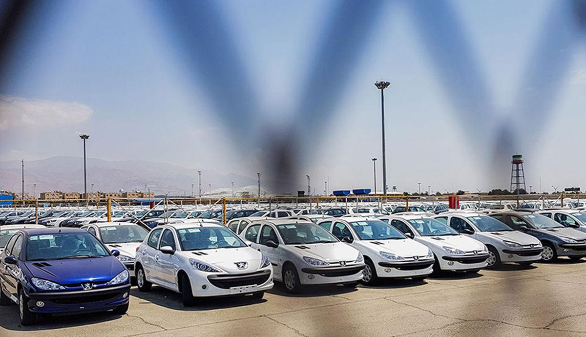 بازار خودرو در رکود + جزئیات
