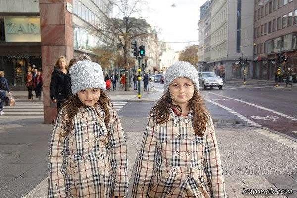 سارا و نیکا در سوئد